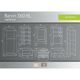 Baron 360 szekrénysor