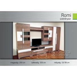 Romi szekrénysor