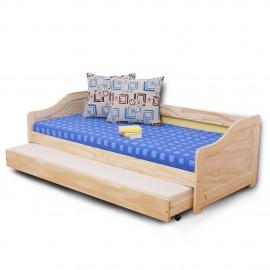 Laura  ágy kihúzható pótággyal