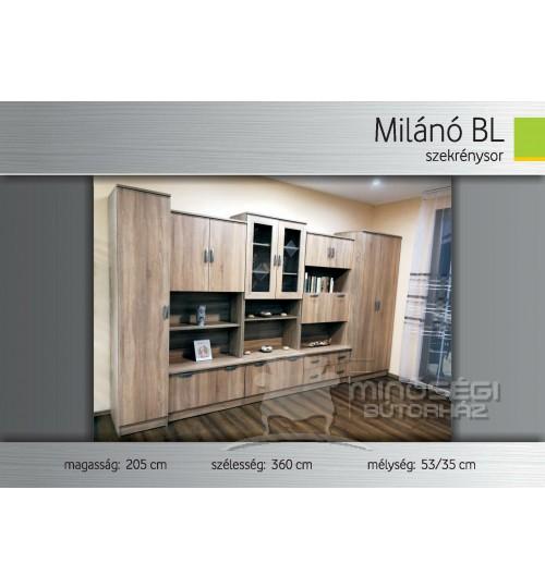 Milánó BL szekrénysor