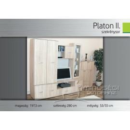 Platon II. szekrénysor